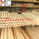 Tubo di ceramica dell'allumina della fornace 99.7%