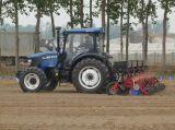 セリウム及びOECDが付いているFoton Lovol 4WD 100HPの農場トラクター