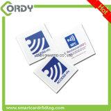 125kHz of 13.56MHz vierkant zelfklevend Rfid- document markeringsRFID etiket