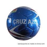 Настраиваемый логотип поощрения PVC кожаные Machine-Sewn футбольный мяч