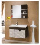 Cabinet de salle de bains en bois plein (KD-784)