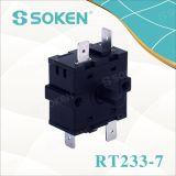 Elektrische Oven van Soken 4 de Roterende Schakelaar van de Positie 16A 250V T100