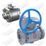 2PC/3PC Flanged 또는 Welded Stainless Steel Ball Valve