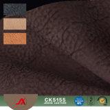 Tessuto di cuoio di Yangbuck del reticolo della pelle di maiale del Faux Ck5155