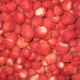 Fraises fraîches congelées rouge