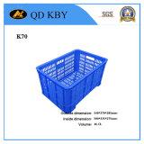 Caixas de plástico de armazenamento forte K70 para Fuirts e vegetais