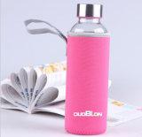 Botella resistente al calor de alta vidrio borosilicato