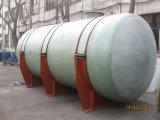 FRP, GRP 의 섬유 유리 수평한 탱크
