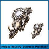 カーテン・レールブラケットの骨董品の単一の金属のカーテンブラケットの装飾的な三重のカーテン・レールのブラケット