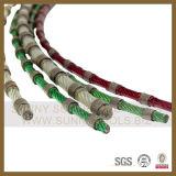 Materials 과 같은 Granite Marble 및 Sandstone를 위한 Iamond Wire Saw