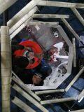 ABA tornillos doble doble cabeza muere Co-Extrusion máquina de hacer la película de alta velocidad