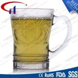 180ml gekwalificeerd ontruim de Gegraveerde Mok van de Koffie van het Glas (CHM8177)