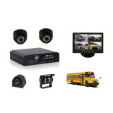 con il USB 4 Channel Car DVR per School Bus/Car Monitor