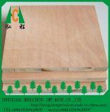 panneau en bois de bloc de contre-plaqué de placage stratifié par papier de mélamine de 18mm