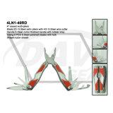 "4 ""Closed S. Steel Handle multi-pinças com alças de cetim / ferramenta: 4ln1-40bl"