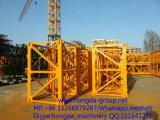Guindaste de torre com carga máxima 3 toneladas