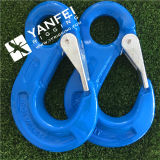 SLR1003 4tons Wll G100 Eye Sling Hook com trava de elenco