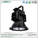 IP65 lumière élevée extérieure de compartiment de la haute énergie 100W 200W 300W 400W DEL
