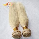 Capelli umani vietnamiti all'ingrosso di colore chiaro di estensione dei capelli biondi
