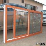 Ventana de desplazamiento colorida del perfil de la buena calidad UPVC, ventana de UPVC, ventana K02088