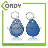 Keychain esperto dos keyfobs do sistema 125kHz TK4100 RFID do controle de acesso