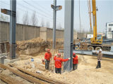 Billig und Elegent Prefabricated Steel Frame Warehouse (BYSS050502)