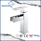 Robinet de lavabo à base de cuivres en laiton sanitaire (AF3781-6)