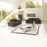 Mattonelle di pavimento di ceramica di disegno della doppia di caricamento porcellana Polished di cristallo bianca popolare del materiale da costruzione