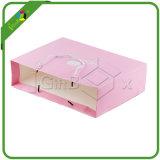 Розовый подарок сумки и подушка коробки для вспомогательного оборудования