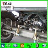 3 Wellen 40FT 40-60 Tonnen Flachbettbehälter-Transport-halb Schlussteil-