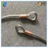 De verbonden Slinger van de Kabel van S.S Wire van het Vingerhoedje