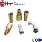 Racor hidráulico integrado los valores de fábrica de montaje de una pieza de tubo flexible hidráulico para la venta