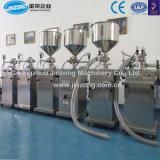 Maquinaria Jinzong crema líquida/máquina de llenado semiautomático