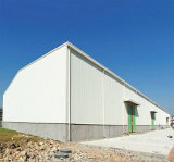 Het prefab Lichte Pakhuis van de Structuur van het Staal (kxd-SSW145)