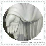 Sculpture en pierre de pure marbre blanc / Onxy pour jardin