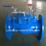 Vanne de commande à distance hydraulique avec boule de flotteur