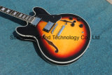 Es335 cinquantième guitare creuse de jazz de l'anniversaire 1963 dans le rayon de soleil (TJ-258)