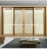 Изолированное стекло с внутренне моторизованными алюминиевыми Venetian шторками для окна/двери/перегородки