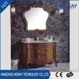 Gabinete de banheiro simples de madeira da mobília do estilo antigo por atacado