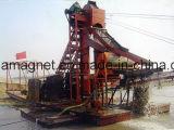 Mini nave de la succión de la arena de hierro para la mina del arena de mar