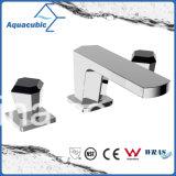 Faucet раковины ванной комнаты ручки Cupc 2 широко распространённый (AF8288-6)