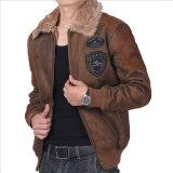 Warme Kleid-Lederjacke für Kleidung des Mannes