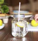 стеклянная тара ручки 550ml, бутылка воды стеклянная, контейнер сока