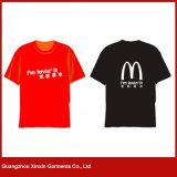 Camisas de T baratas por atacado da fábrica para homens para a promoção (R158)