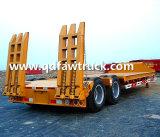 2 Axle 50tons низкий кровати трейлер Semi/трейлер палубы падения