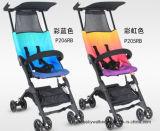 Cor nova e Único-Mão combinadas que dobram o carrinho de criança de bebê de Pockit