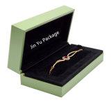 rectángulo de empaquetado hecho a mano mano de la pulsera de la manera del regalo de la visualización ciánica de la joyería