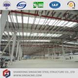 Sinoacmeは構造スチールフレームの倉庫を組立て式に作った