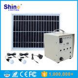 sistema di energia solare 100W con l'uscita di CA e di CC