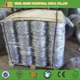 鉄ワイヤー材料および有刺鉄線のコイルのタイプ電流を通された有刺鉄線中国製